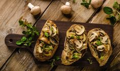Avocado toast will always have a place in my heart (read: stomach) but sometimes nothing beats the warming comfort of mushroom toast. Mushroom Toast, Marmite, Body Is A Temple, Protein Sources, Vitamin D, Easy Peasy, Avocado Toast, Baked Potato, Stuffed Mushrooms