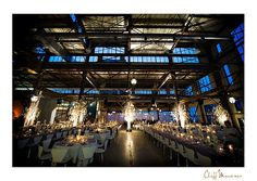 okay, this has now made my top 3 list of ideal wedding venues: urban outfitters warehouse at building 543 of the philadelphia naval yard