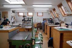 Book conservation workshop