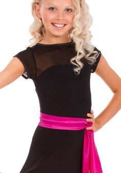 DSI Willow Juvenile Ballroom Dance Top 3183J | Dancesport Fashion @ DanceShopper.com