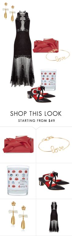 """The valentines edit"" by avenue-32 ❤ liked on Polyvore featuring N°21, Atelier Paulin, Maison La Bougie, Proenza Schouler, Mirit Weinstock and Jonathan Simkhai"