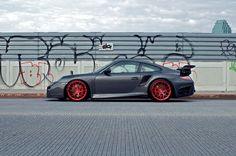 Porsche 911 ( 997 ) Turbo by HRE Wheels 2012 - Mad 4 Wheels