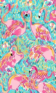 Lilly wallpaper