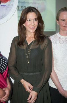 HRH Crown Princess Mary attends, as patron, the Maternity Foundation's campaign 'Save a mother's life on Mother's Day' in Copenhagen, April 29, 2014.