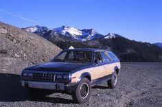AMC Eagle Wagon with factory wood trim