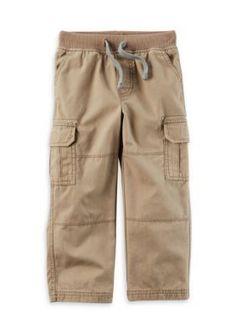 Carter's Cargo Pants Toddler Boys - Tan/Khaki - 2T