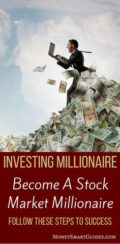 The Manifestation Millionaire - How to Become a Millionaire - The Proven Way For You To Become A Stock Market Millionaire Stock Market Investing, Investing In Stocks, Investing Money, Real Estate Investing, Stock Market For Beginners, How To Make Money, How To Become, Steps To Success, Investment Tips