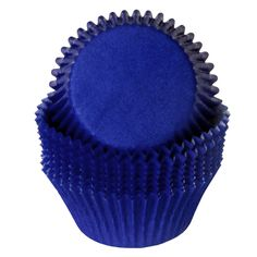 Cupcake Cups - Solid Royal Blue (24)
