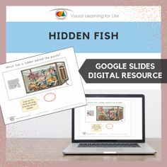 This digitally interactive resource is designed for use with Google Slides. This resource contains 20 slides in total. Answer sheets are included.The student must find the fish in the tank that is the same as the fish that is hidden behind the puzzle pieces, and drag the circle to mark the correct answer.