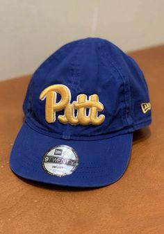 New Era Pitt Panthers Baby My 1st 9TWENTY Adjustable Hat - Blue - 59005532 Pittsburgh Pirates, Pittsburgh Penguins, Pittsburgh Steelers, Temporary Store, Pitt Panthers, Infant, Baseball Hats, Baby, Baseball Caps