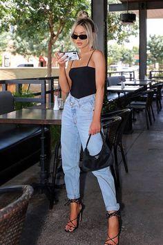 Dont Be So Square Bodysuit Black Summer Fashion Black Bodysuit dont Square Looks Street Style, Looks Style, Fashion 2020, Look Fashion, 2020 Fashion Trends, Nyc Fashion, Spring Fashion, Europe Fashion, Fashion Hacks