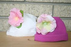 Oh-Sew-Easy Flower Hats