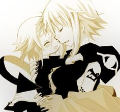 Soul Eater - Medusa and Crona... i wish so badly that she actually loved him.. he so badly wanted his mothers love