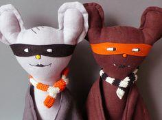 Fledermaus Kuscheltier // plush toy bat by jipijipi via dawanda.com
