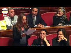 PAOLA TAVERNA (M5S) umilia BERLUSCONI il PDL sbrocca
