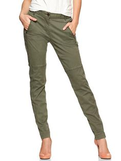 Luxury Gap  Maternity Women Cargo Pants Size 10 Maternity
