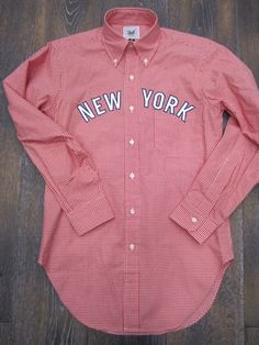 New York Gingham shirt (Mark McNairy) ---> Repinned by www.gers.nl