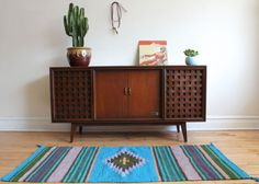 Mid Century Modern Zenith Stereo Console Record by SharkGravy