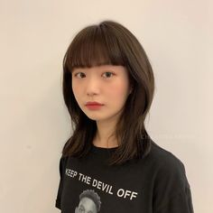 Kpop Short Hair, Korean Short Hair, Girl Short Hair, Korean Medium Hair, Medium Hair Cuts, Medium Hair Styles, Long Hair Styles, Short Hair With Layers, Layered Hair
