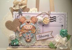 Snuggle Up Daffy, Christmas Hugs Sentiment, Santa's Letter set from www.digitaldelightsbyloubyloo.com