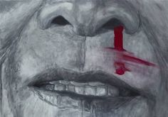 "Saatchi Art Artist sebastian sleczka; Painting, ""Beaten"" #art"