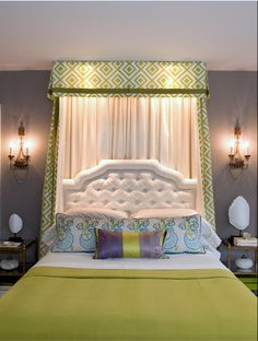 Valance and Canopy idea for Bean's room