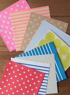 fab postcard by toshiyuki fukuda from the Japanese tegamisha shop. via print & pattern