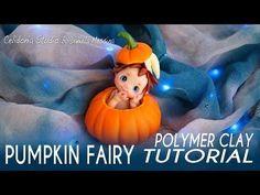 Halloween Pumpkin Fairy | Polymer Clay Tutorial | Simple Fairy - YouTube