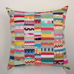 scrap happy pillow | Flickr - Photo Sharing!