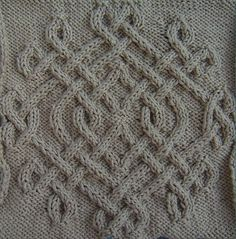 Ravelry: Celtic Snowflake (#14) pattern by Devorgilla's Knitting (sometimes...)