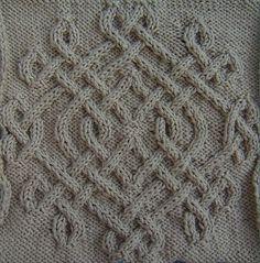 Ravelry: Celtic Snowflake (#14) pattern by Devorgilla's Knitting (sometimes...)
