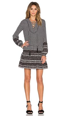 Shop for Twelfth Street By Cynthia Vincent Mixed Print Front Lace Up Dress in Black & Ivory at REVOLVE. Free 2-3 day shipping and returns, 30 day price match guarantee.