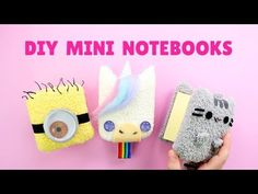 DIY Back to School Supplies: Binders, Pencil Case & Organization | LaurDIY - YouTube