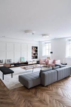 Contemporary living room is more than just a modern one. From our list of contemporary living room i. Living Room Decor On A Budget, Big Living Rooms, Living Room Colors, Living Room Grey, Home Living Room, Apartment Living, Living Room Designs, Cozy Living, Small Living