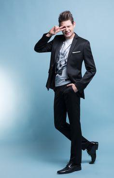 """Stylizacja na studniówkę z garniturem Marcus 1 E13/32 B - Kolekcja studniówkowa 2013/2014 """"Endings&Beginnings"""" marki Giacomo Conti - garnitury studniówkowe za 599zł + koszula za 1zł + krawat/mucha za 1zł #giacomoconti"""