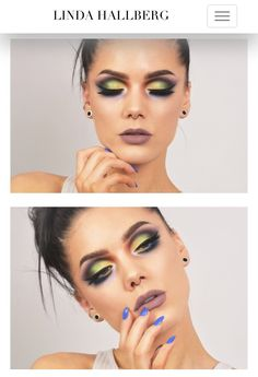 Today's look - space invaders Yellow Eye Makeup, Linda Hallberg, Painted Faces, Space Invaders, Makeup Obsession, Yellow Eyes, Make Me Up, Creative Makeup, Fashion Shoot