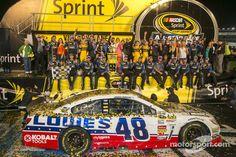 Jimmie Johnson wins the Million $ at Charlotte !!