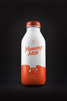 Yummy Milk (Concept) on Packaging of the World - Creative Package Design Gallery
