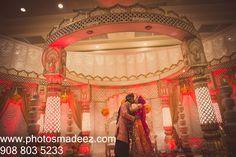 Bride and Groom's Photo in Hindu Wedding Ceremony in Dovers Down Casino in Delaware. Hispanic Bride and Gujarati Groom in a mixed wedding. Along with Abhishek Decor and KM Events. Featured in Maharani Weddings.Delaware wedding Photographer PhotosMadeEz