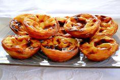 Pasteis-de-nata Tostadas, Belem, Onion Rings, Shrimp, Portugal, Sweets, Vegetables, Ethnic Recipes, Food