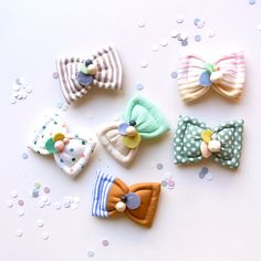 DIY Sweet Bow Clips