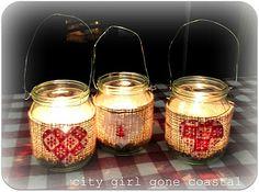 Scanadi Shabby Chic Candles