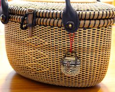 9inch tote & miniature basket