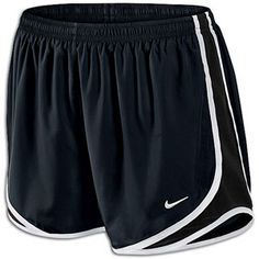 These cute shorts you can find at www.ladyfootlocker.com for $24.99 on sale, regular price, $31.99.  These are perfect for both running and walking, and look great with the redish/orange Air Max 2013!  They come in a wide range of colors as well!
