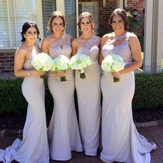 one shoulder bridesmaid dresses,silver bridesmaid dress,light blue bridesmaid