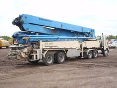 Putzmeister Concrete Pumps for Sale from Concrete Pump Depot.  Used Boom pumps of Putzmeister with heavy duty engine and spare parts like as tyres and wear parts. Financing option also available.For details,please visit:  http://www.concretepumpdepot.com/Putzmeister_52Meters_2420.html