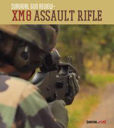 Survival Gun Review - XM8 Assault Rifle | Weapons, Gear, Gun Tips - Survival Life Blog: survivallife.com #survivallife #survival #survivalweapons
