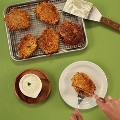 Parsnip and sweet potatoes give boring latkes new life.