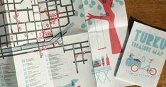 Turku Treasure Map 2012 on julkaistu ja noudettavissa kaikista karttaan osallistuneista paikoista ja mm. Turku Infosta. Kartta on Polk...