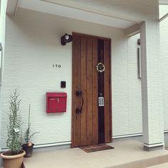 Outdoor Decor, Interior Design, House, Tall Cabinet Storage, Home, Interior, Lixil, Entrance, Doors